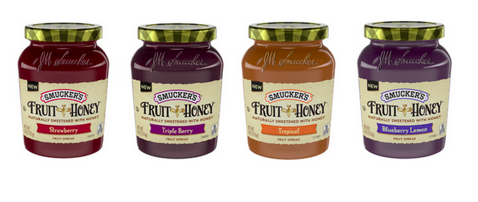 Smuckers Sweet Honey Fruit Spreads