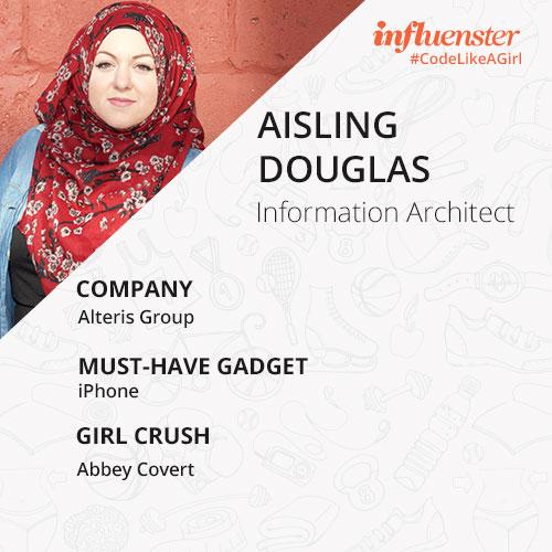aisling douglas #CodeLikeAGirl