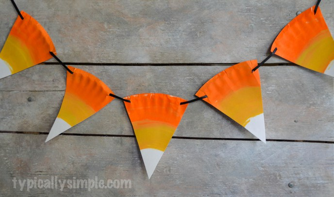 Candy Corn Bunting
