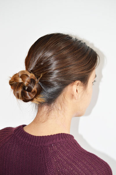 Braided Bun Trial