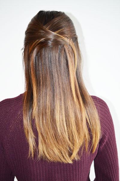 Criss Cross Hair Trial