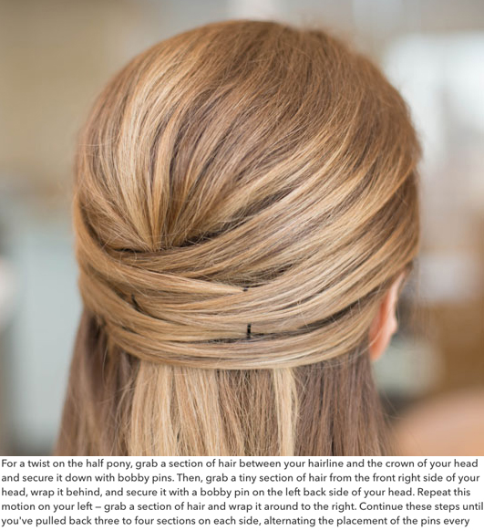 Criss Cross Hair Tutorial