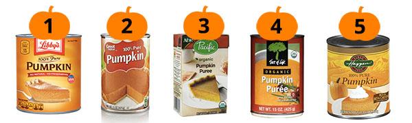 Influenster's Favorite Pumpkin Purees