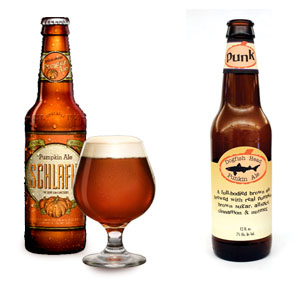 Schlafly Pumpkin Ale and Dogfish Head Punkin Ale