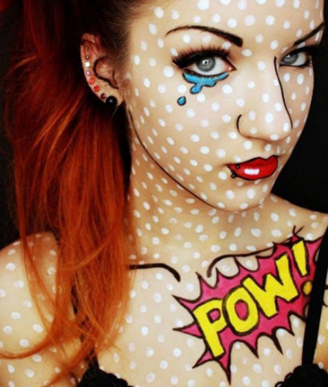 Comic Book Makeup