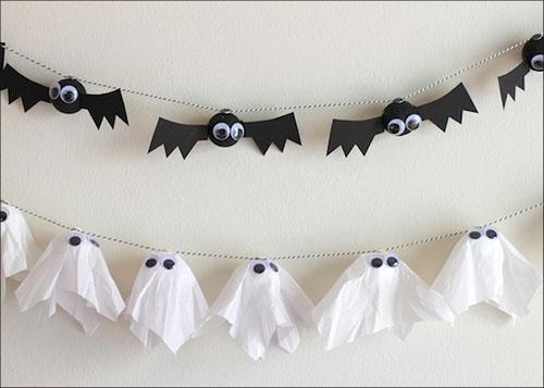 Bat & Ghost Garlands
