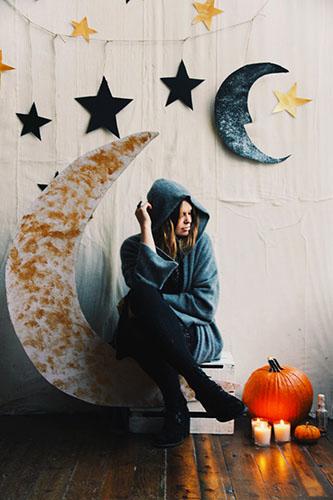 Moon & Stars Backdrop