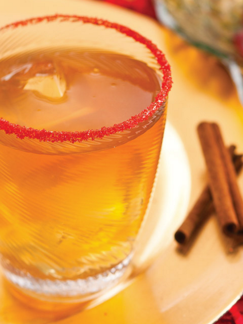 Cinnamon Apple Margarita