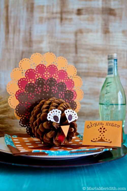 Pinecone Turkey Placeholder