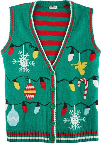 Vintage Christmas Vest