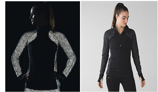 Glow-in-the dark workout jacket