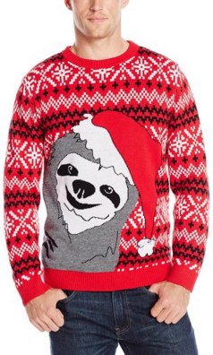 Slothy Christmas Sweater