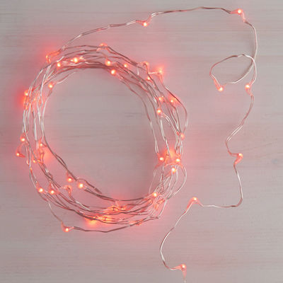 Red Glimmer String Lights