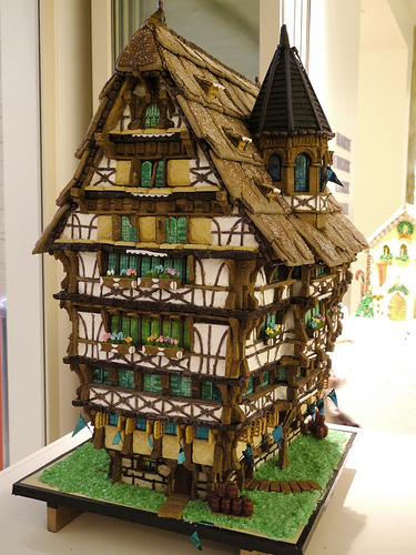 Swiss Chalet Gingerbread House