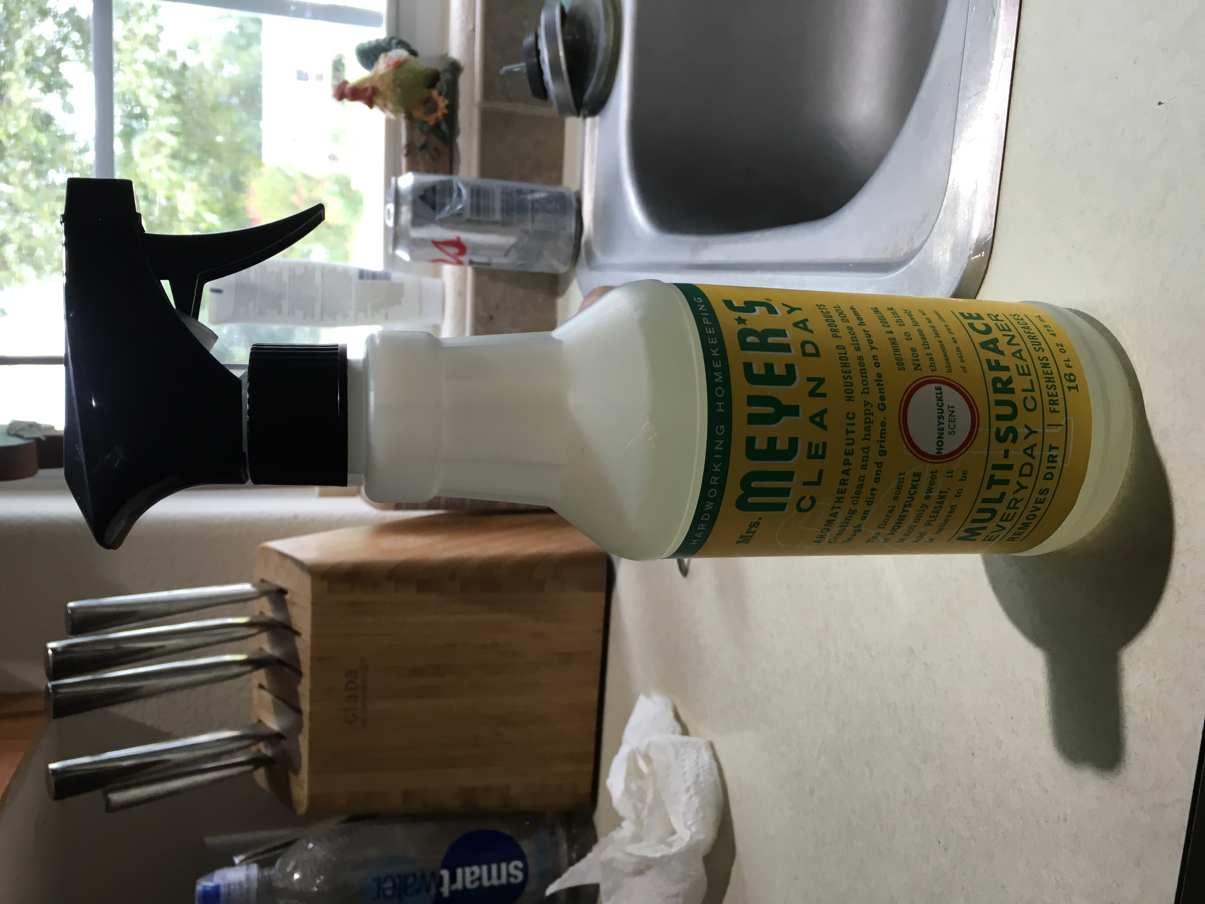 Mrs. Meyer's Clean Day Honeysuckle All Purpose Cleaner uploaded by Barbara E.