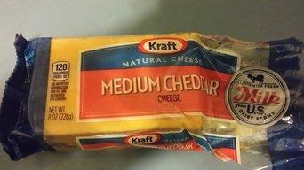 Kraft Medium Cheddar Cheese 9.6 oz. Pack uploaded by Chiante B.