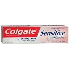 5 Pack - Colgate Sensitive Maximum Strength Whitening Toothpaste 6oz Each uploaded by Nashalie R.