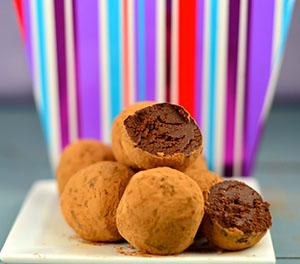 Guilt-Free Chocolate Truffles