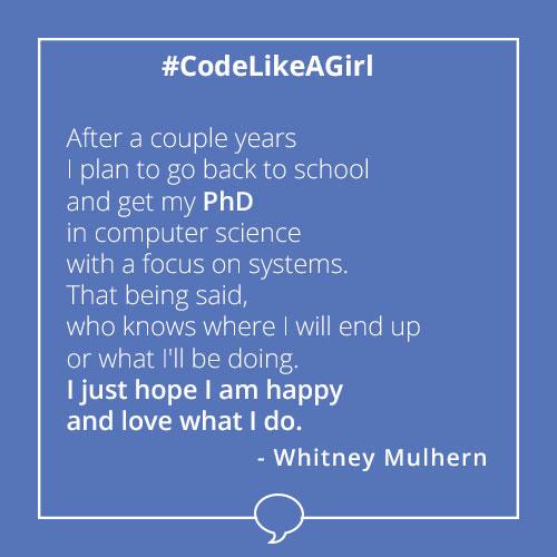 Influenster Code Like a Girl Scholarship