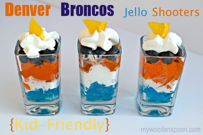 Denver Broncos Jello Shooters