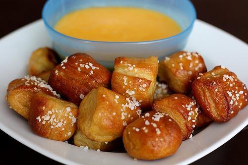 http://www.twopeasandtheirpod.com/homemade-soft-pretzel-bites/