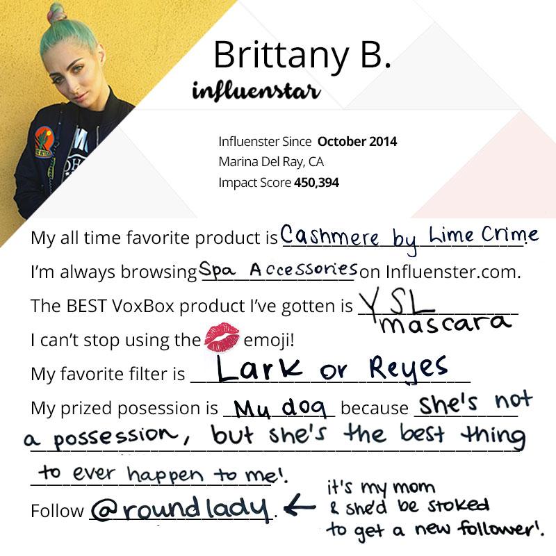 Brittany Balyn InfluenSTAR