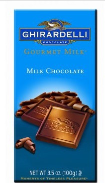 Ghirardelli Gourmet Milk Bar