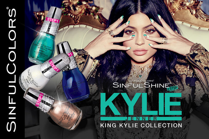 King Kylie Collection SinfulColors