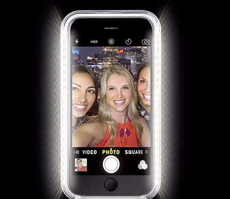 Vanity Light Up Phone Case : We Tried It: Selfie Phone Cases Influenster