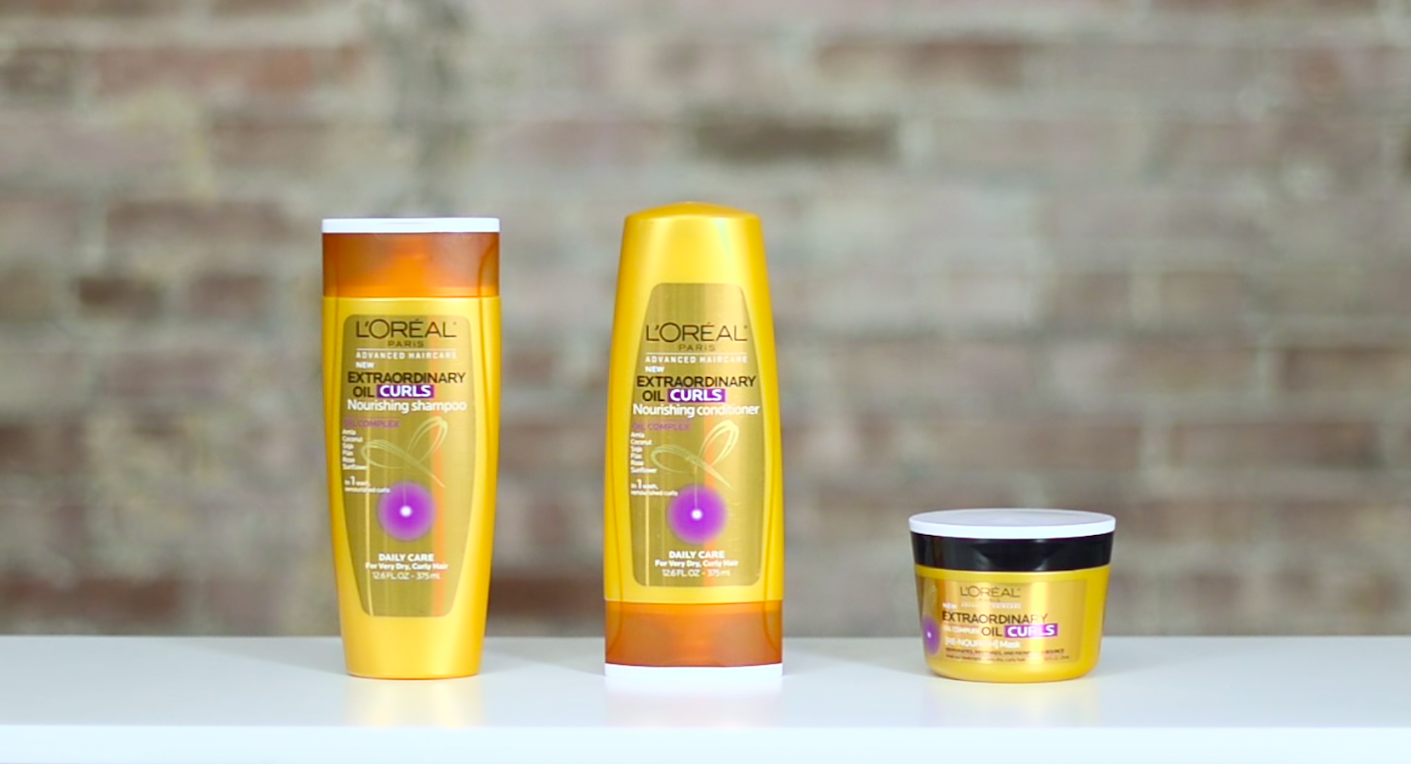 L'Oréal Advanced Haircare Extraordinary Oil Curls