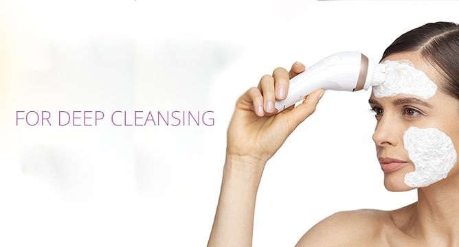 Panasonic Micro-Foaming Cleansing Device
