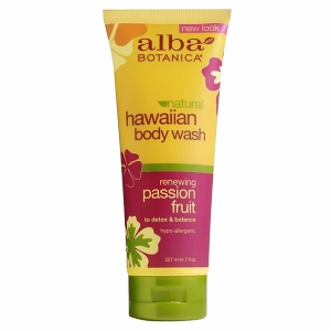 Alba Botanica Hawaiian Body Wash Passion Fruit 7 fl oz