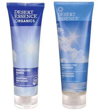 Desert Essence Shampoo and Conditioner