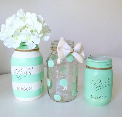 Mason Jar Recycling