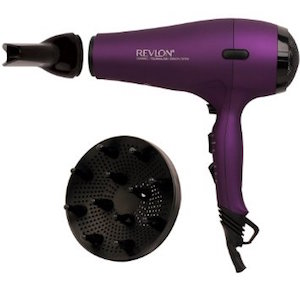 Revlon Perfect Heat AC Motor Hair Dryer with Diffuser