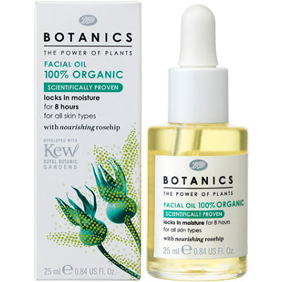 Boots Botanicals Facial Oil