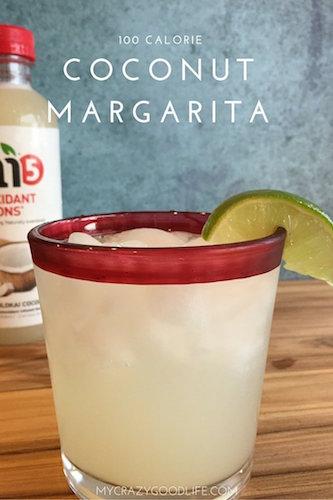 100 Calorie Coconut Margarita