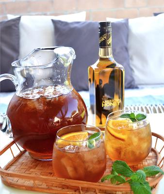 Honey Bourbon Sweet Tea