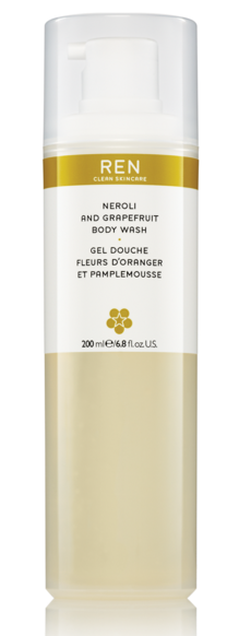 Ren neroli grapefruit body wash