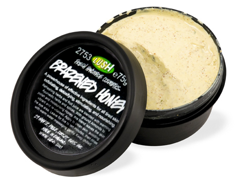 Lush Brazen Honey Face Mask