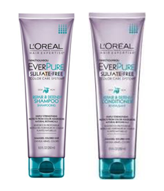 L'Oreal Paris Hair Expertise EverPure Shampoo and Conditioner