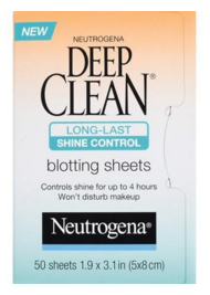 Neutrogena Deep Clean Shine Control Blotting Sheets