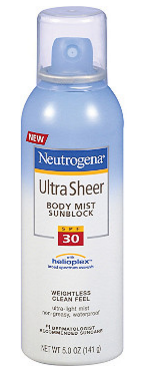 Neutrogena Fresh Cooling Sunscreen Broad Spectrum SPF 70