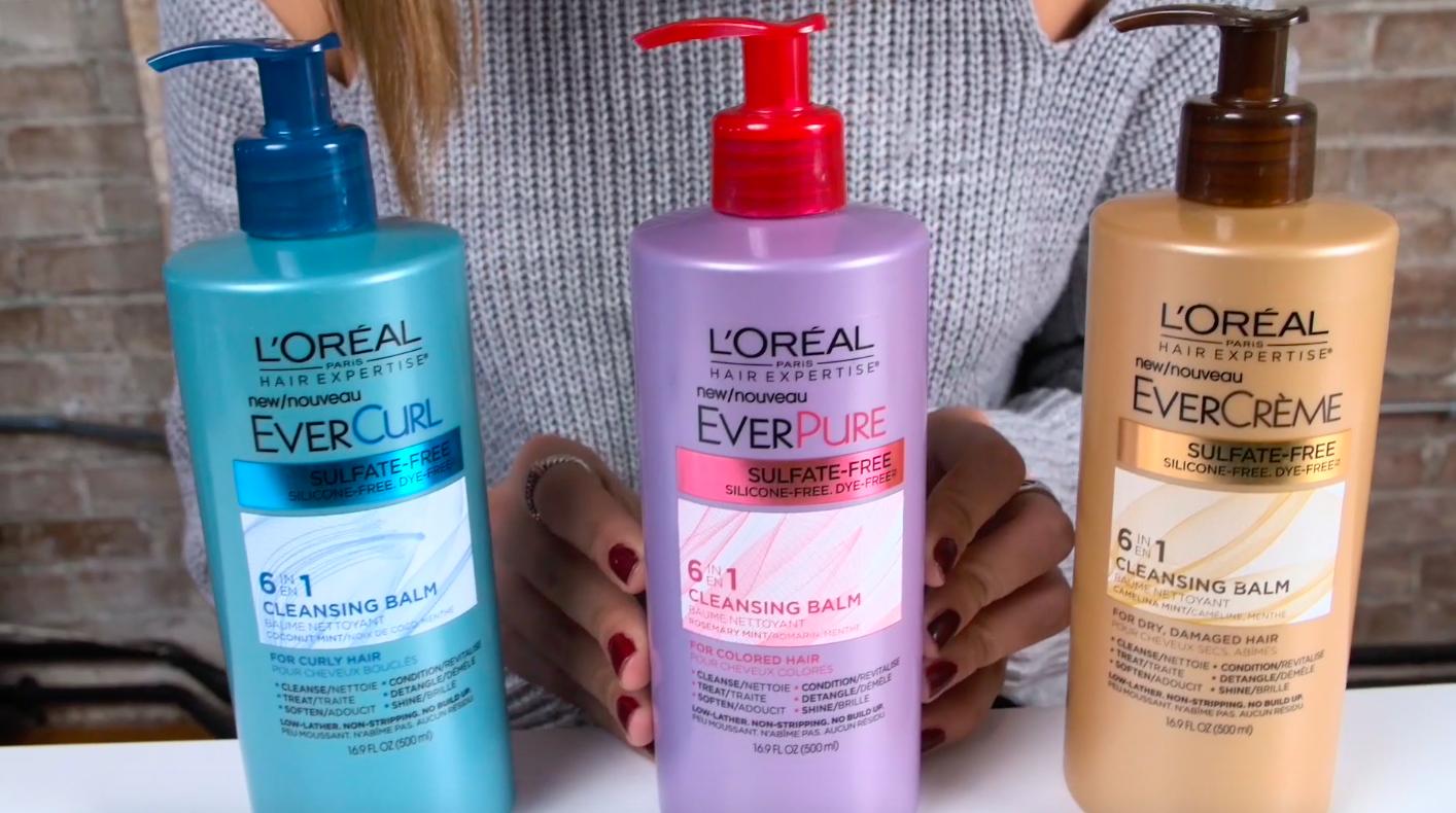 L'Oréal Paris Hair Expertise Ever Cleansing Balms