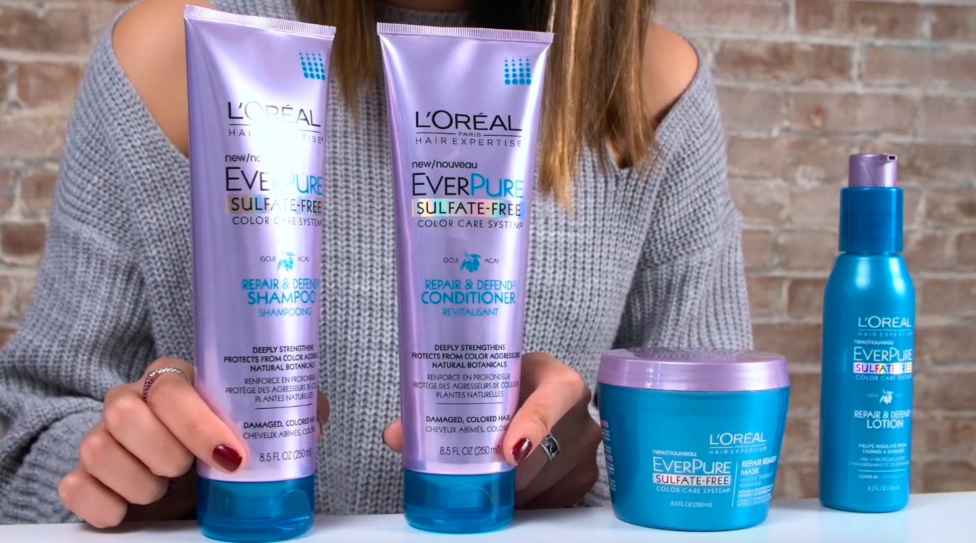 L'Oréal Paris Hair Expertise Repair & Defend Color Care System