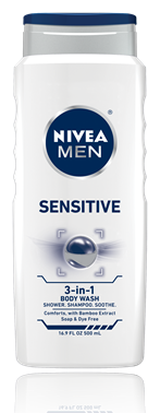 Nivea for Men Hair & Body Wash