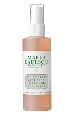 Mario Badescu Facial Spray with Aloe, Herbs & Rosewater, 4 oz