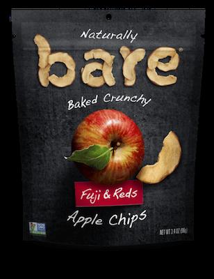 Bare Fruit Organic Apple Chips Fuji Red