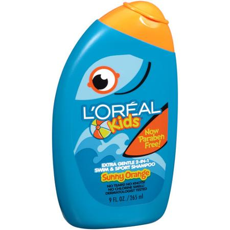 L'Oréal Kids Extra Gentle 2-in-1 Swim & Sport Shampoo Splash of Sunny Orange