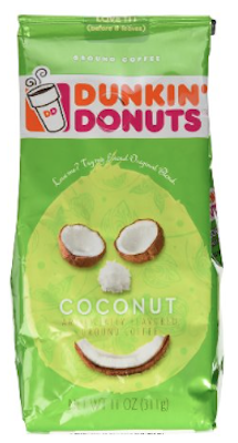 Dunkin' Donuts Coconut Ground Coffee